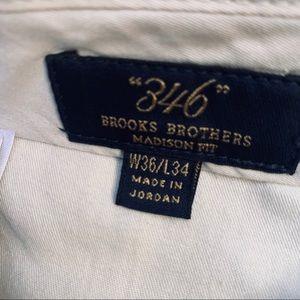 Brooks Brothers Pants - Brooks Brothers Men Black Dress Pants Size 36x34